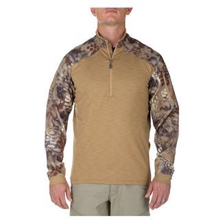 5.11 Rapid Half Zip Shirt Coyote