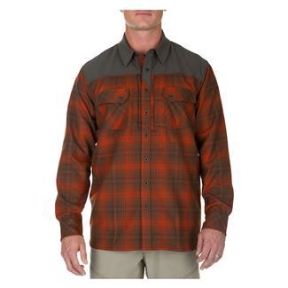 5.11 Sidewinder Flannel Shirt Fireball