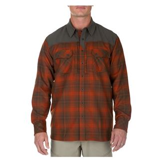 5.11 Sidewinder Flannel Shirt Fireball
