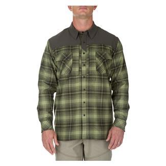 5.11 Sidewinder Flannel Shirt Mossstone