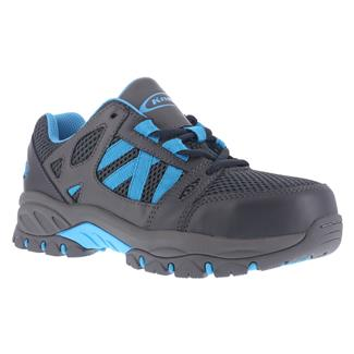 Knapp Athletic Work Oxford ST Charcoal / Blue