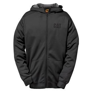 CAT Shield Full Zip Sweatshirt Black