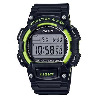 Casio Classic W736H-3AV Black / Green