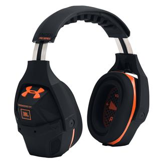 Under Armour Silencer Headphones Black / Blaze Orange