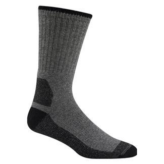 Wigwam At Work Double Duty Socks (2 Pack) Gray