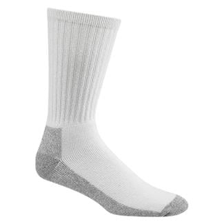 Wigwam At Work Crew Socks (3 Pack) White / Sweatshirt Gray