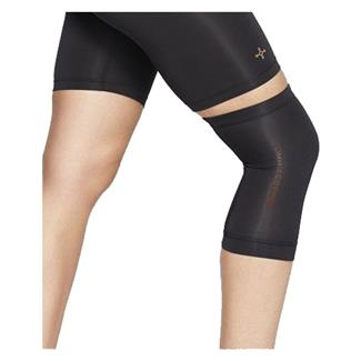 Tommie Copper Contoured Knee Sleeve Black