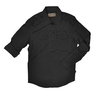 Hazard 4 Colonial Safari Stretch Patch Shirt Black
