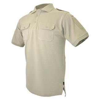 Hazard 4 QuickDry LEO Uniform Replacement Patch Shirt Tan