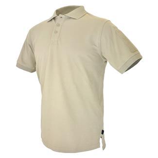 Hazard 4 Undervest Plain Front Patch Shirt Tan