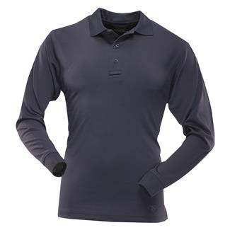 TRU-SPEC 24-7 Series Long Sleeve Performance Polo Navy