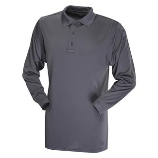 TRU-SPEC 24-7 Series Long Sleeve Performance Polo Charcoal