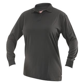 TRU-SPEC 24-7 Series Long Sleeve Performance Polo Black