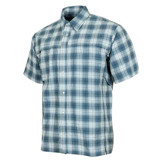 TRU-SPEC 24-7 Series Plaid Camp Shirt Blue Plaid