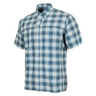 TRU-SPEC 24-7 Series Plaid Camp Shirt Blue Plaid