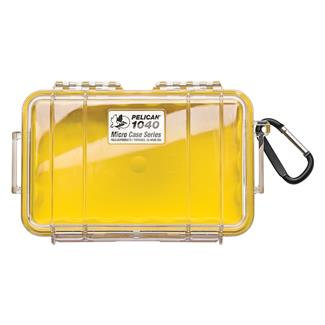 Pelican 1040 Micro Case Yellow w/ Clear Lid
