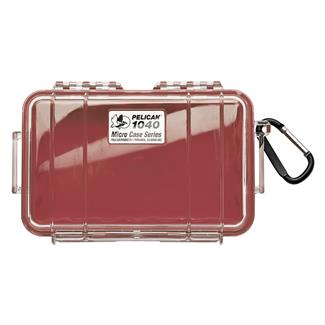 Pelican 1040 Micro Case Red w/ Clear Lid