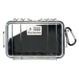 Pelican 1050 Micro Case Black w/ Clear Lid
