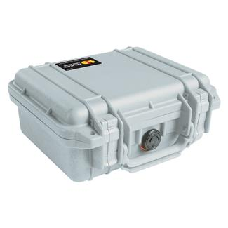 Pelican 1200 Small Case Silver
