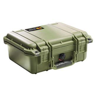 Pelican 1400 Small Case OD Green
