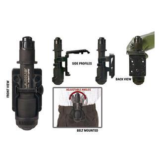Blackhawk Gladius Flashlight Holder w/ MOD-U-Lok Attachment Black