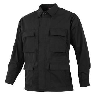 TRU-SPEC Poly / Cotton Ripstop BDU Coat Black