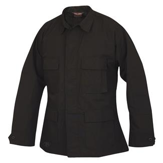 TRU-SPEC Lightweight Poly / Cotton Ripstop BDU Coat Black