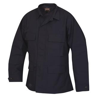 TRU-SPEC Lightweight Poly / Cotton Ripstop BDU Coat Navy
