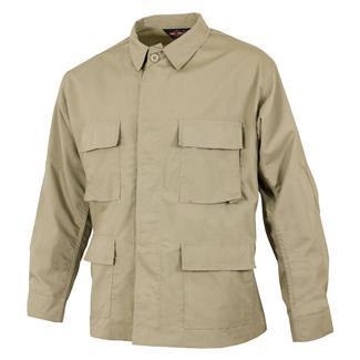Tru-Spec Poly / Cotton Ripstop BDU Coat Khaki