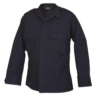Tru-Spec Poly / Cotton Ripstop Tactical Shirt Navy