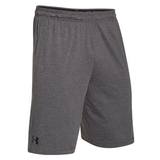 Under HeatGear Armour Raid Shorts Carbon Heather / Black