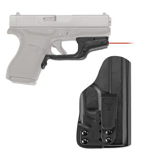 Crimson Trace LG-443-HBT Laserguard with IWB Holster Red