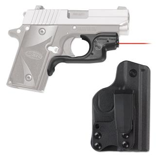 Crimson Trace LG-492-HBT Laserguard with IWB Holster Red