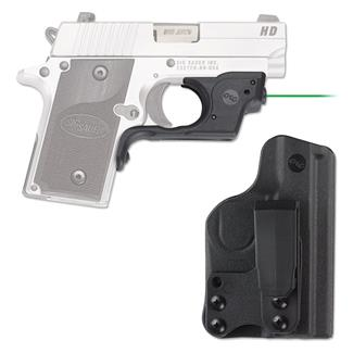 Crimson Trace LG-492G-HBT Laserguard with IWB Holster Green