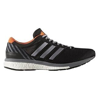 Adidas Adizero Boston 6 Black / Gray / Energy Orange