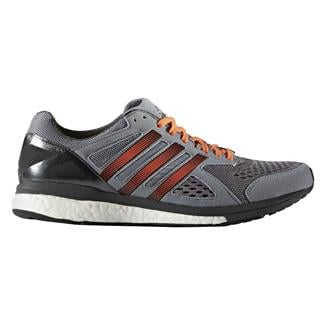 Adidas Adizero Tempo 8 Gray / Black / Energy Orange