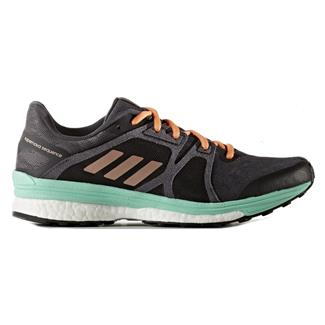 Adidas Supernova Sequence 9 Utility Black / Tech Rust Met / Easy Green