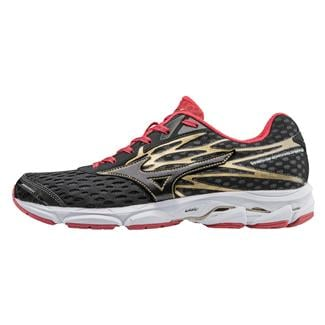 Mizuno Wave Catalyst 2 Black / Chinese Red / Gold