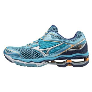 Mizuno Wave Creation 18 Norse Blue / Silver / Orange Pop