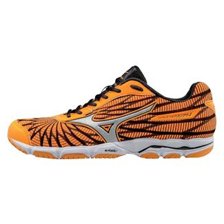 Mizuno Wave Hitogami 4 Orange Pop / Dark Shadow / White
