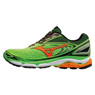 Mizuno Wave Inspire 13 Green Gecko / Clownfish / Black
