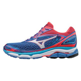 Mizuno Wave Inspire 13 Strong Blue / Diva Pink / White