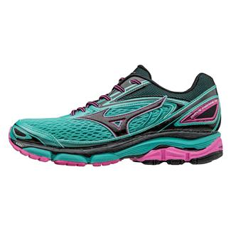 Mizuno Wave Inspire 13 Turquoise / Electric / Black
