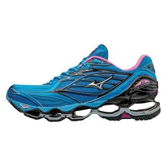 Mizuno Wave Prophecy 6 Diva Blue / Silver / Electric