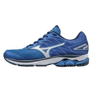 Mizuno Wave Rider 20 Nautical Blue / Silver / White