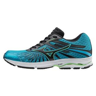 Mizuno Wave Sayonara 4 Atomic Blue / Black / Green Gecko