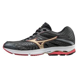 Mizuno Wave Sayonara 4 Dark Shadow / Gold / Chinese Red