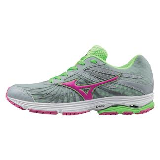 Mizuno Wave Sayonara 4 High-Rise / Electric / Green Gecko