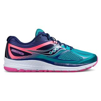 Saucony Guide 10 Teal / Navy / Pink