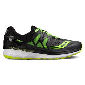 Saucony Hurricane Iso 3 Gray / Black / Citron